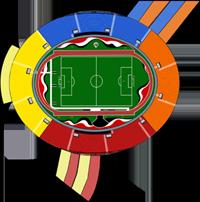 Ilustração do Estádio Cícero Pompeu de Toledo
